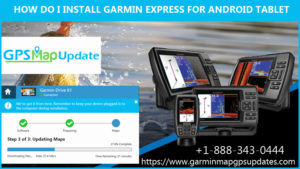 Install Garmin Express in Android
