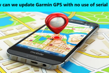 update Garmin GPS with no use of serial port