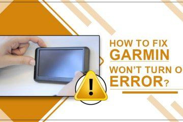 Garmin won't turn on