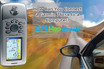Connect a Garmin 76csx to a Computer