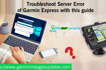 Server Error of Garmin Express
