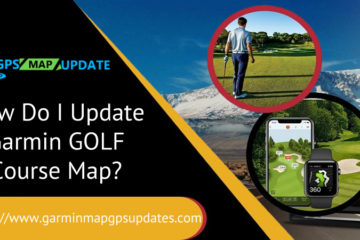 Garmin Golf Course Map
