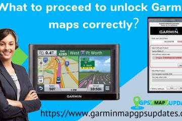 Unlock Garmin Maps